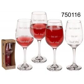 Ποτήρι Κρασί Καλημέρα Κακιά Μέρα Μην τα Ρωτάς