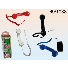 Πλαστικό Ακουστικό Κινητού Σε Διάφορα Χρώματα