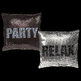 Μαξιλάρια με Πούλιες Party Relax Love Sequin
