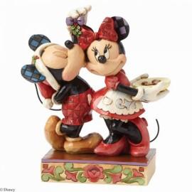 Disney Jim Shore- Ο Μίκυ Και Η Μίνη Αγαλματίδιο