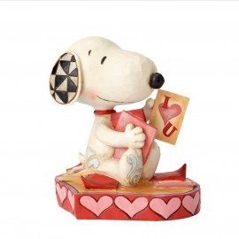Disney Jim Shore- Puppy Love Snoopy Αγαλματίδιο