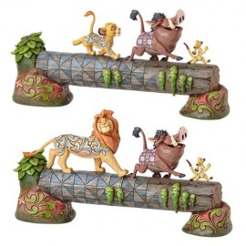 Ο Σίμπα με τον Τιμόν & Πούμπα σε Φιγούρα από τη Disney και το Jim Shore