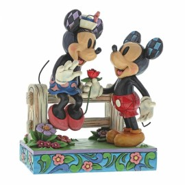 Blossoming Romance (Mickey Mouse & Minnie Mouse Figurine)