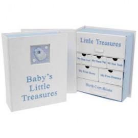 Μικρό Ντουλαπάκι Για τους ''Θησαυρούς'' Ενός Νεογέννητου Αγοριού