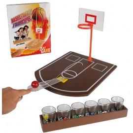 Μπασκετάκι Παιχνίδι Ποτού Με 6 Σφηνοπότηρα
