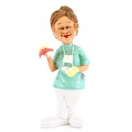 Η Οδοντίατρος Χιουμοριστικό Αγαλματίδιο