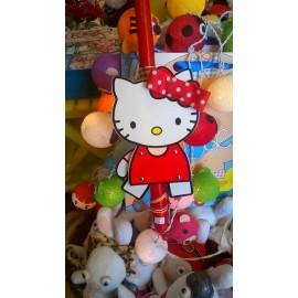 Λαμπάδα Hello Kitty Μαριονέτα