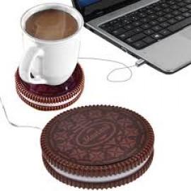 'Ζεστό Μπισκότο με Usb Για Να Κρατάει Ζεστό Τον Καφέ Σας
