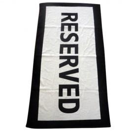 Reserved Πετσέτα Θαλάσσης