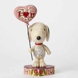 Disney Jim Shore- I Heart You Snoopy Αγαλματίδιο
