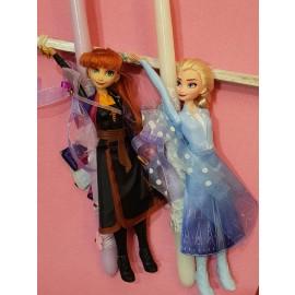 Λαμπάδα Έλσα Άννα Frozen Κούκλες