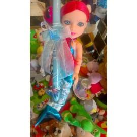 Λαμπάδα Κούκλα Μικρή Γοργόνα