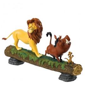 Ο Βασιλιάς Των Λιονταριών Simba, Με Pumba Και  Timon Τραγουδούν Hakuna Matata