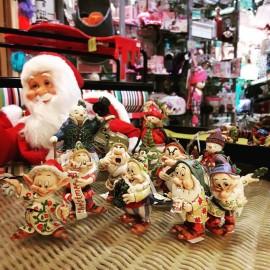 Οι Εφτά Νάνοι σε Χριστουγεννιάτικα Στολίδια από το Jim Shore και τη Disney