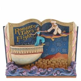 Αγαλματίδιο το Βιβλίο του Αλαντίν με τη Γιασμίν- Romance Takes Flight