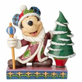 Χριστουγεννιάτικη Φιγούρα Μίκυ Αη Βασίλης