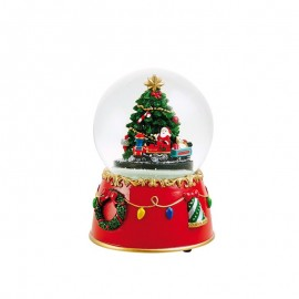 Χιονόμπαλα Χριστουγεννιάτικο Δέντρο