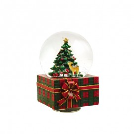 Χιονόμπαλα Χριστουγεννιάτικη Πακέτο Δώρου