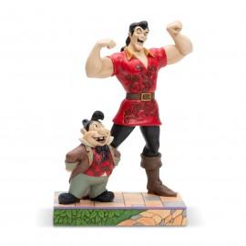 O Γκαστόν με το Λεφού Αγαλματίδιο από την Disney Traditions Jim Shore