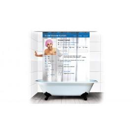 Κουρτίνα Μπάνιου Social Shower
